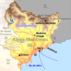 CARTE GUILLAUMES